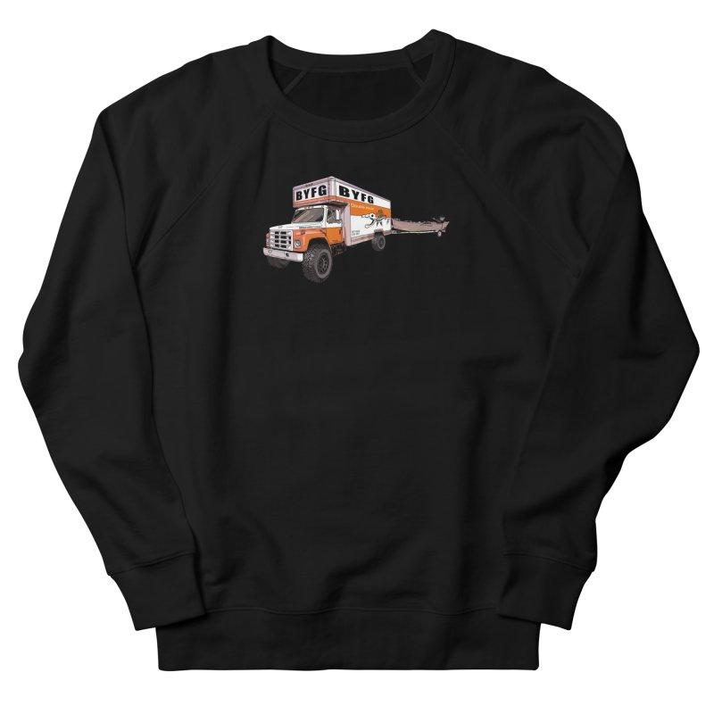 Double Hauler Men's French Terry Sweatshirt by Boneyard Studio - Boneyard Fly Gear