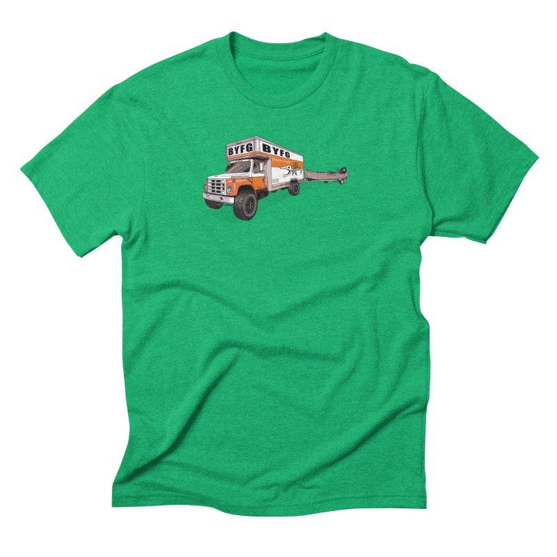 Double Hauler Men's Triblend T-Shirt by Boneyard Studio - Boneyard Fly Gear
