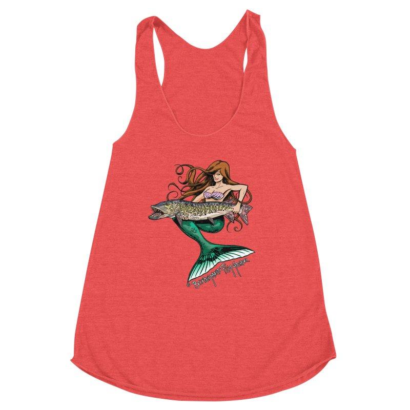 Mermaid Musky Women's Tank by Boneyard Studio - Boneyard Fly Gear