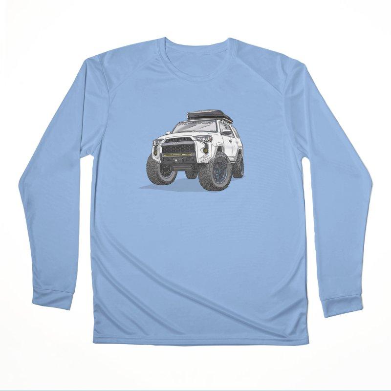 4Runner Adventure Rig Men's Performance Longsleeve T-Shirt by Boneyard Studio - Boneyard Fly Gear