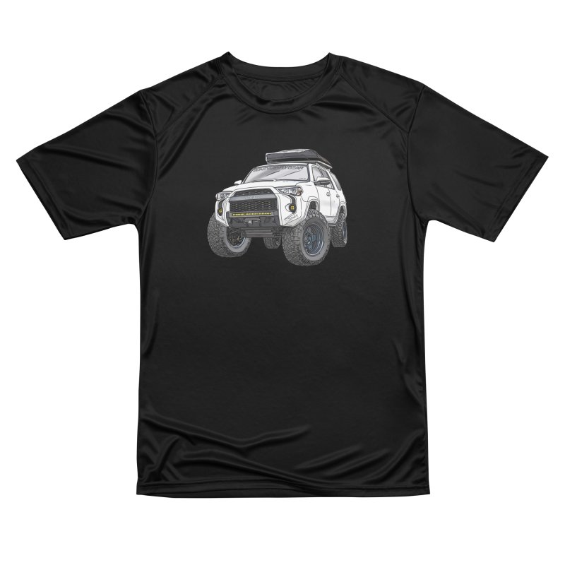 4Runner Adventure Rig Men's Performance T-Shirt by Boneyard Studio - Boneyard Fly Gear