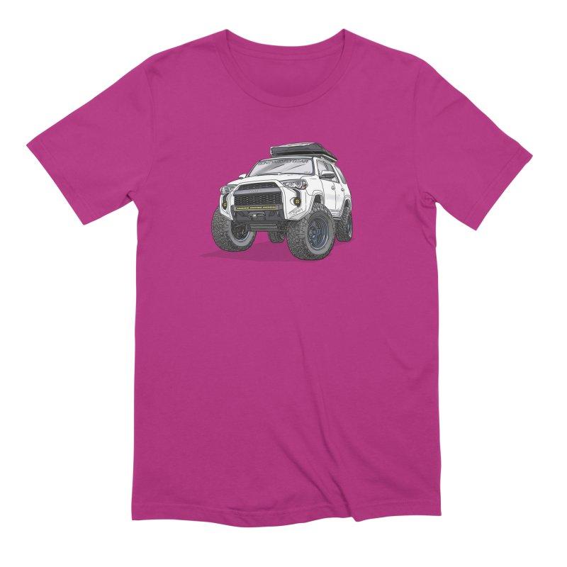 4Runner Adventure Rig Men's Extra Soft T-Shirt by Boneyard Studio - Boneyard Fly Gear