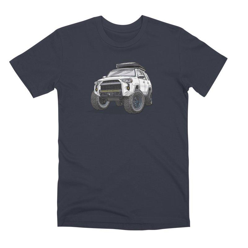 4Runner Adventure Rig Men's Premium T-Shirt by Boneyard Studio - Boneyard Fly Gear