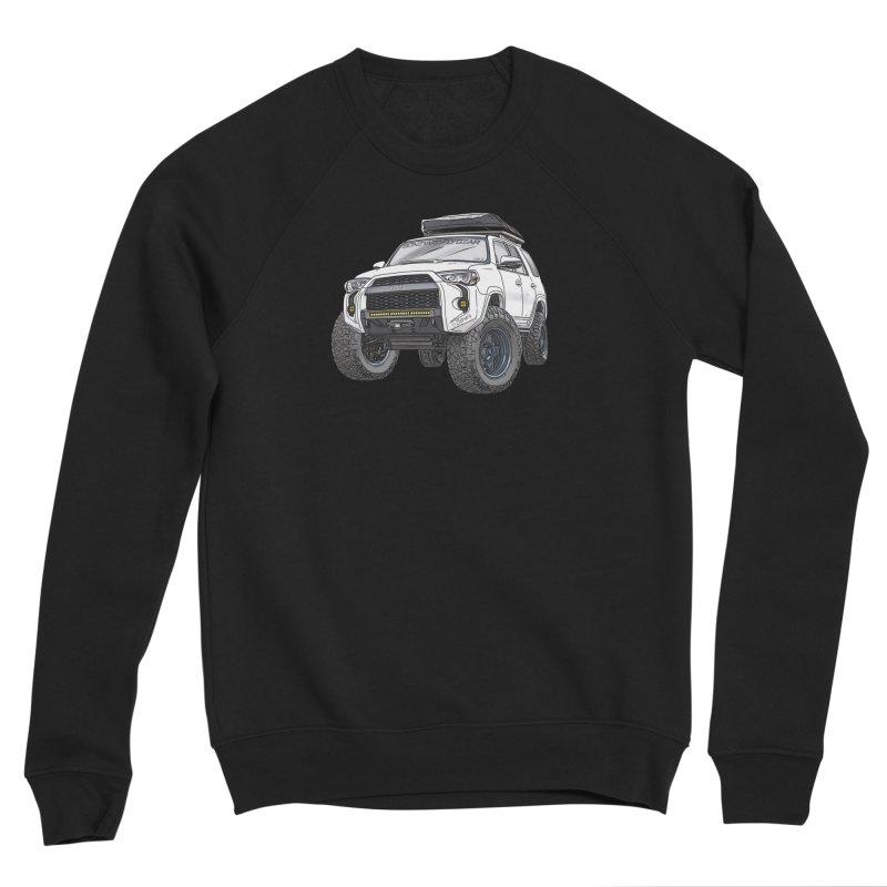 4Runner Adventure Rig Men's Sponge Fleece Sweatshirt by Boneyard Studio - Boneyard Fly Gear