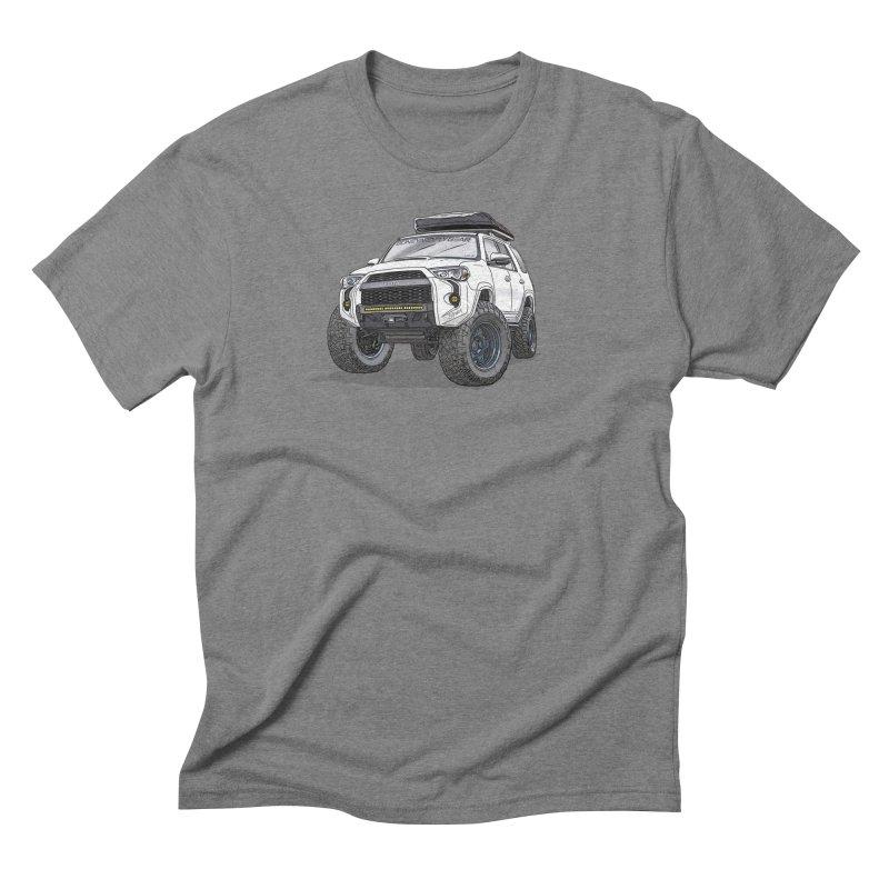 4Runner Adventure Rig in Men's Triblend T-Shirt Grey Triblend by Boneyard Studio - Boneyard Fly Gear