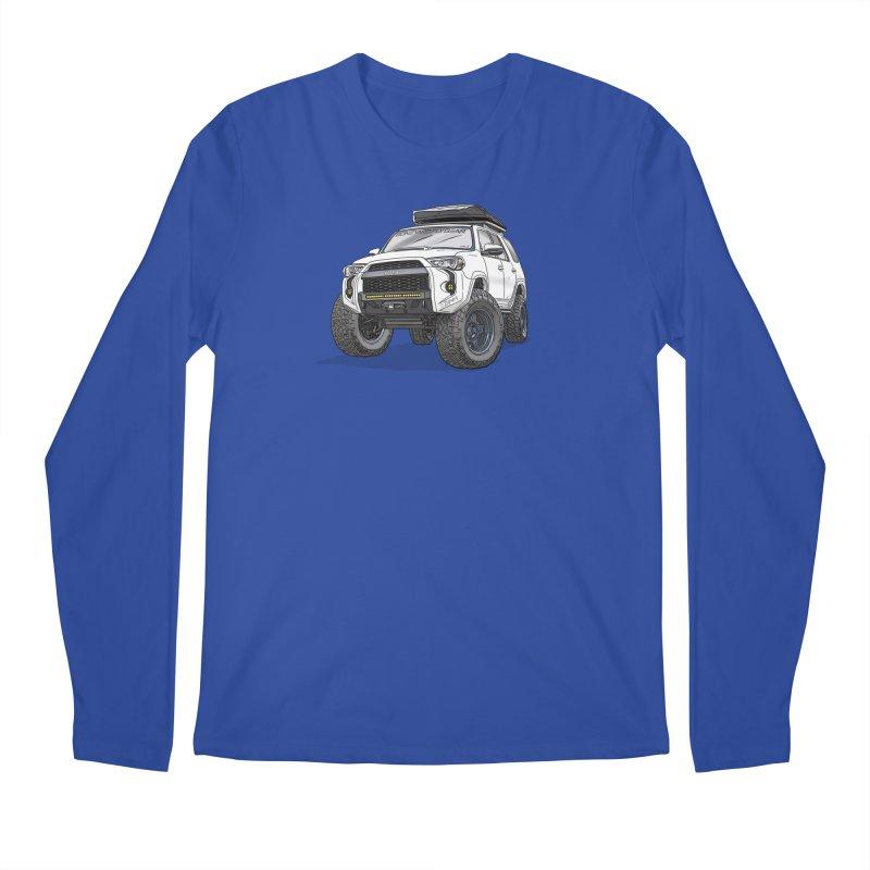 4Runner Adventure Rig Men's Regular Longsleeve T-Shirt by Boneyard Studio - Boneyard Fly Gear