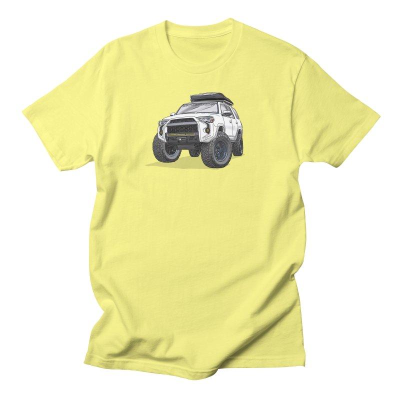4Runner Adventure Rig Men's Regular T-Shirt by Boneyard Studio - Boneyard Fly Gear