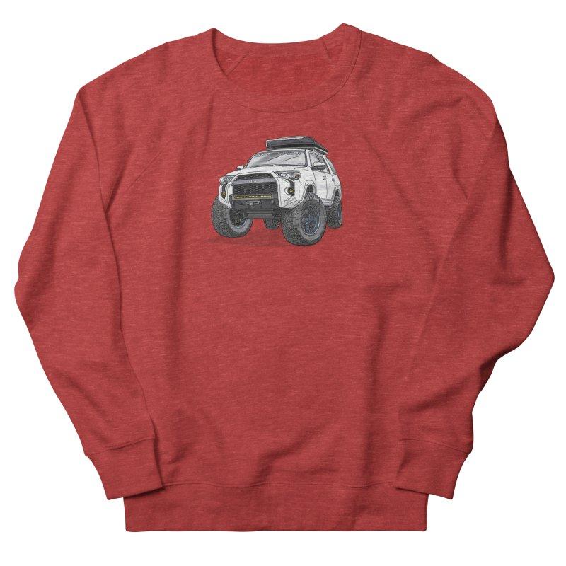 4Runner Adventure Rig Men's French Terry Sweatshirt by Boneyard Studio - Boneyard Fly Gear