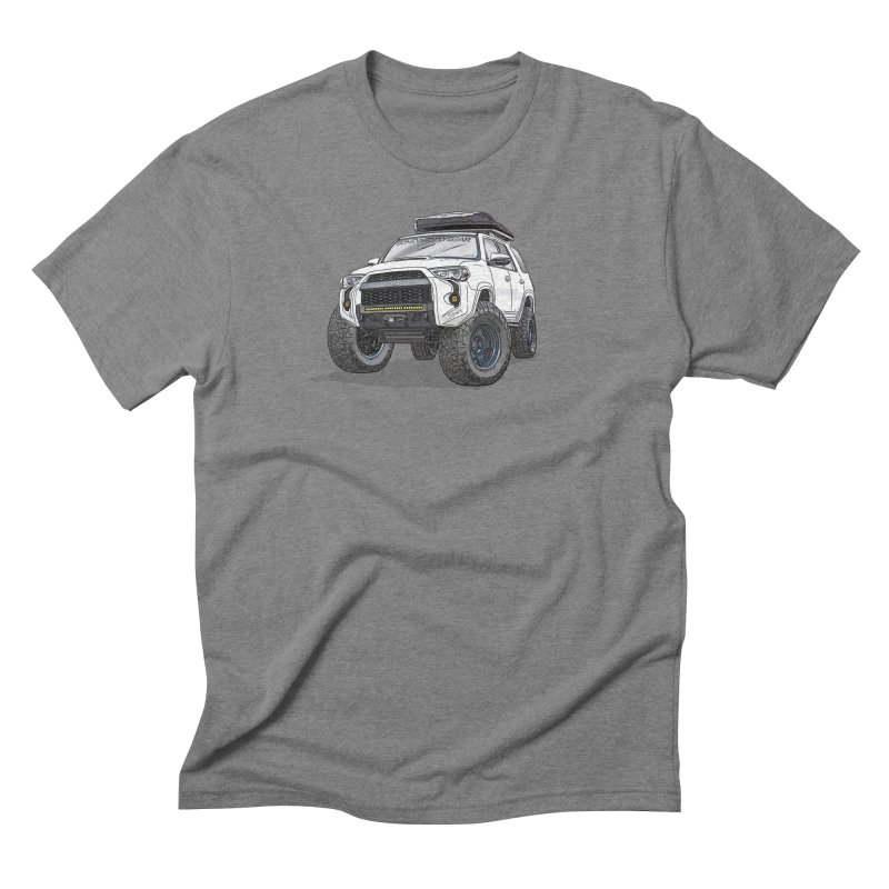 4Runner Adventure Rig Men's T-Shirt by Boneyard Studio - Boneyard Fly Gear