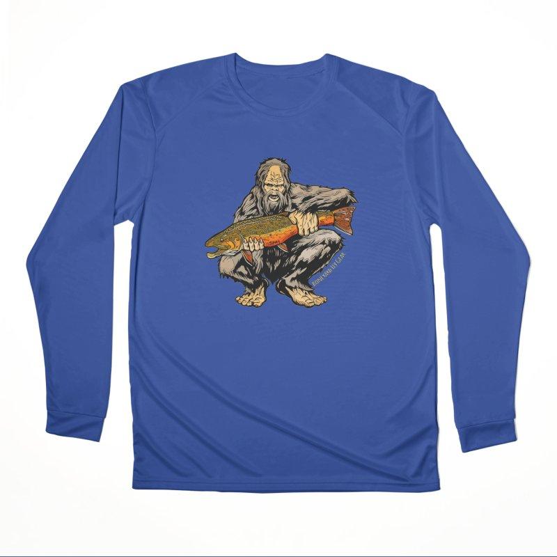 Sasquatch Brook Trout Men's Performance Longsleeve T-Shirt by Boneyard Studio - Boneyard Fly Gear