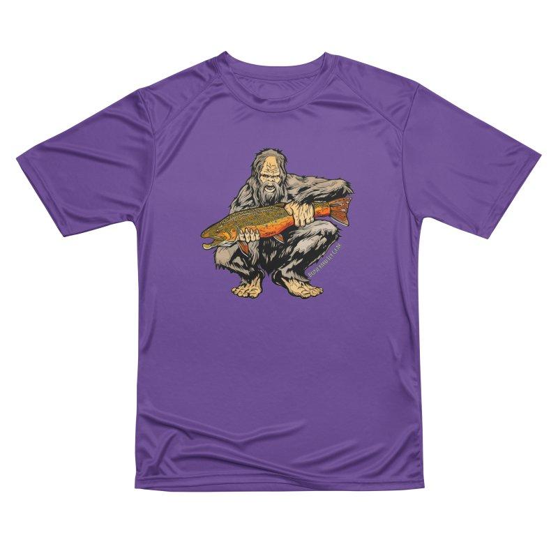 Sasquatch Brook Trout Men's Performance T-Shirt by Boneyard Studio - Boneyard Fly Gear