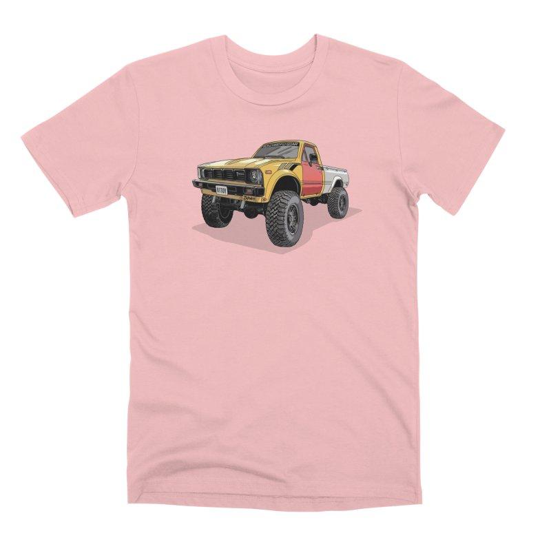 1981 Toyota Hilux Men's Premium T-Shirt by Boneyard Studio - Boneyard Fly Gear