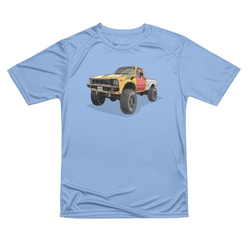 1981 Toyota Hilux Men's Performance T-Shirt by Boneyard Studio - Boneyard Fly Gear