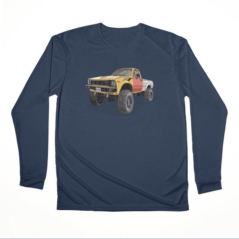 1981 Toyota Hilux Men's Performance Longsleeve T-Shirt by Boneyard Studio - Boneyard Fly Gear