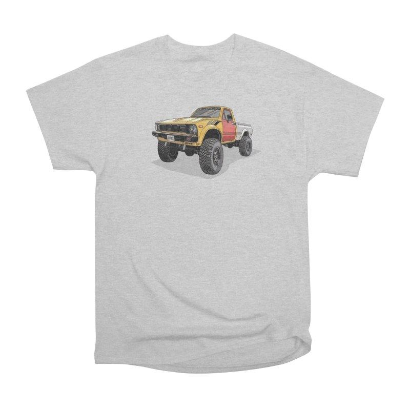 1981 Toyota Hilux Men's Heavyweight T-Shirt by Boneyard Studio - Boneyard Fly Gear
