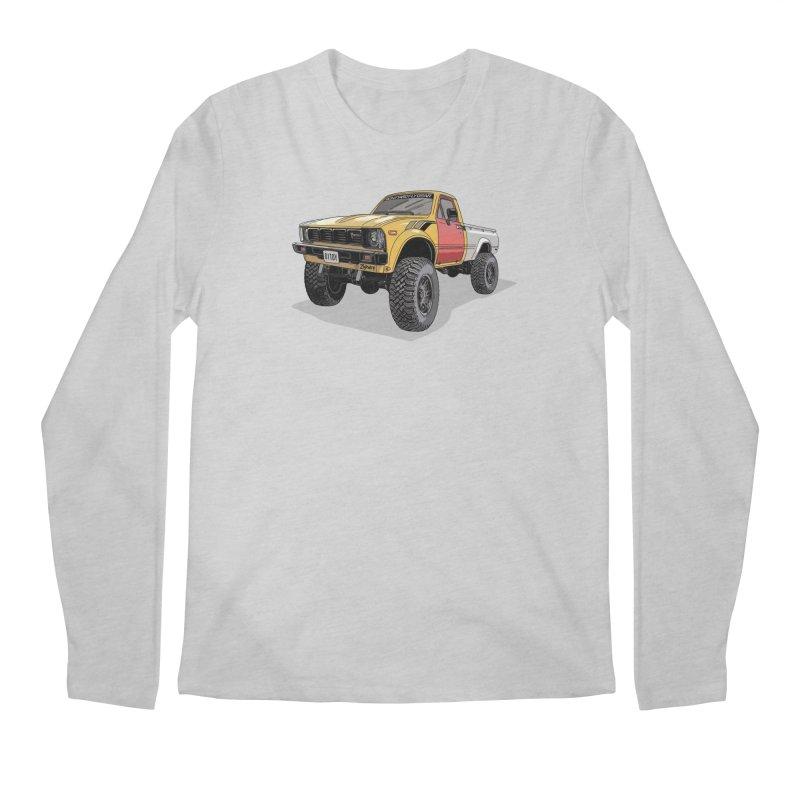 1981 Toyota Hilux Men's Regular Longsleeve T-Shirt by Boneyard Studio - Boneyard Fly Gear