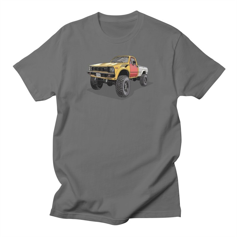 1981 Toyota Hilux Men's T-Shirt by Boneyard Studio - Boneyard Fly Gear