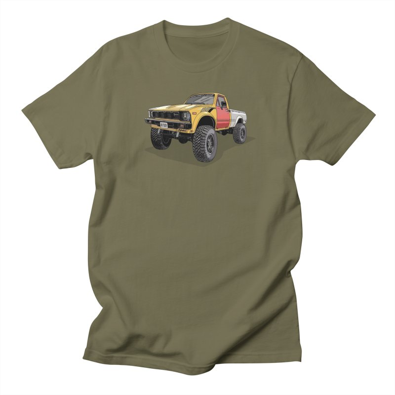 1981 Toyota Hilux Men's Regular T-Shirt by Boneyard Studio - Boneyard Fly Gear