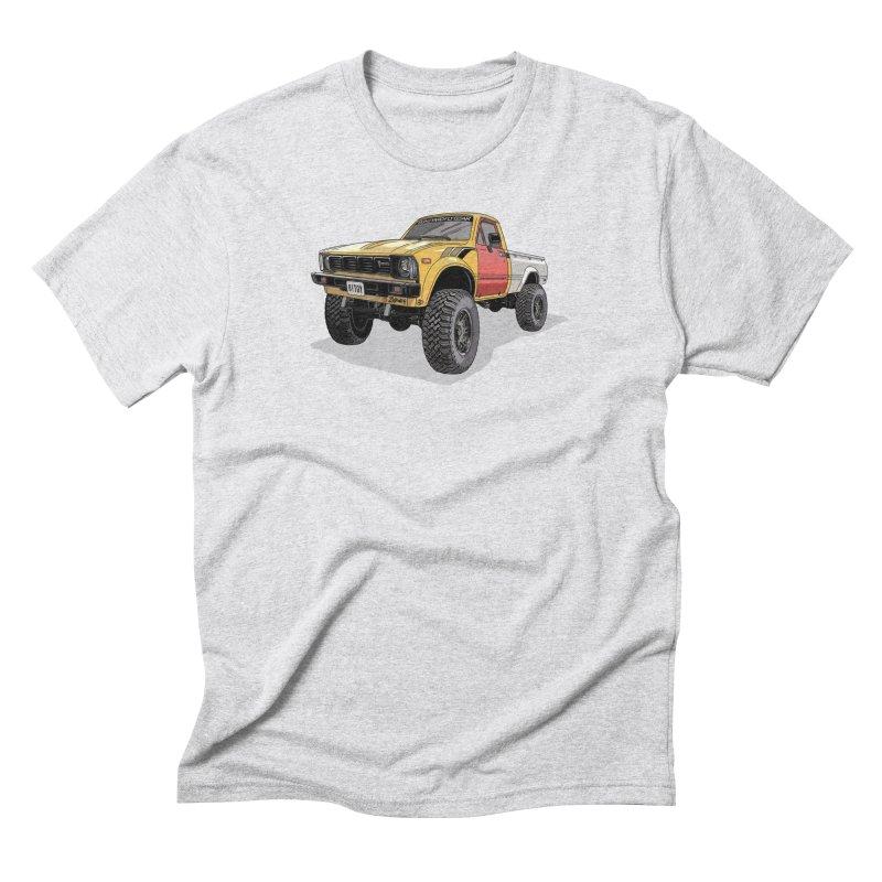 1981 Toyota Hilux Men's Triblend T-Shirt by Boneyard Studio - Boneyard Fly Gear