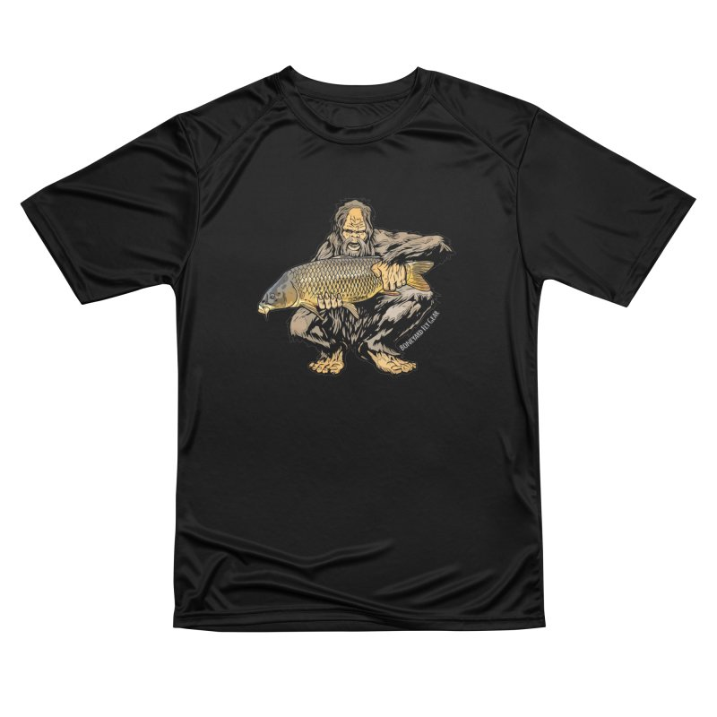 Sasquatch Carp Men's Performance T-Shirt by Boneyard Studio - Boneyard Fly Gear