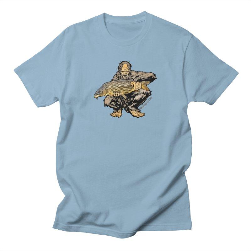 Sasquatch Carp Men's Regular T-Shirt by Boneyard Studio - Boneyard Fly Gear