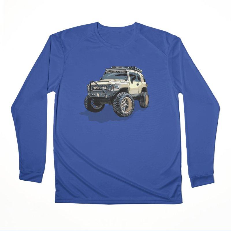Texas size FJ Cruiser Men's Performance Longsleeve T-Shirt by Boneyard Studio - Boneyard Fly Gear