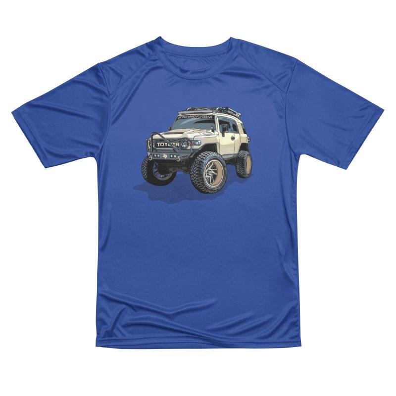 Texas size FJ Cruiser Men's Performance T-Shirt by Boneyard Studio - Boneyard Fly Gear