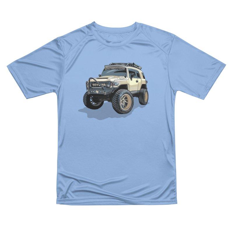 Texas size FJ Cruiser Men's T-Shirt by Boneyard Studio - Boneyard Fly Gear