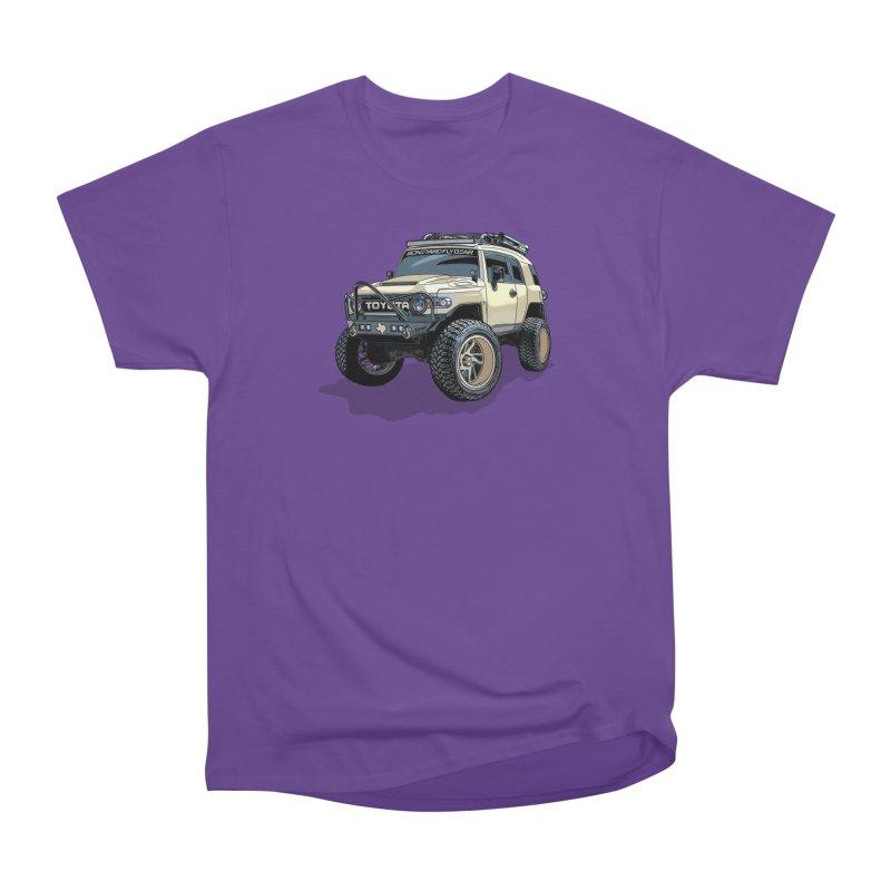 Texas size FJ Cruiser Men's Heavyweight T-Shirt by Boneyard Studio - Boneyard Fly Gear