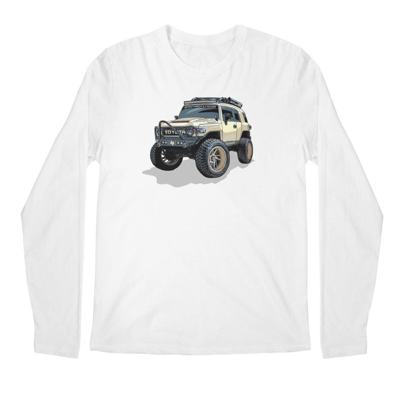 Texas size FJ Cruiser Men's Regular Longsleeve T-Shirt by Boneyard Studio - Boneyard Fly Gear
