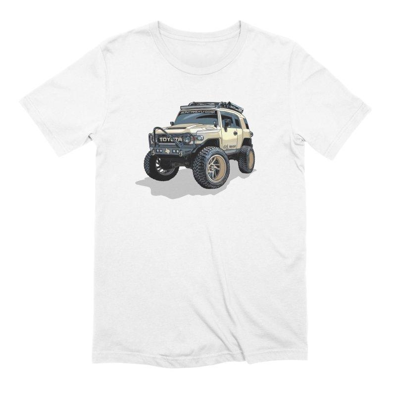 FJ Texas Men's Extra Soft T-Shirt by Boneyard Studio - Boneyard Fly Gear