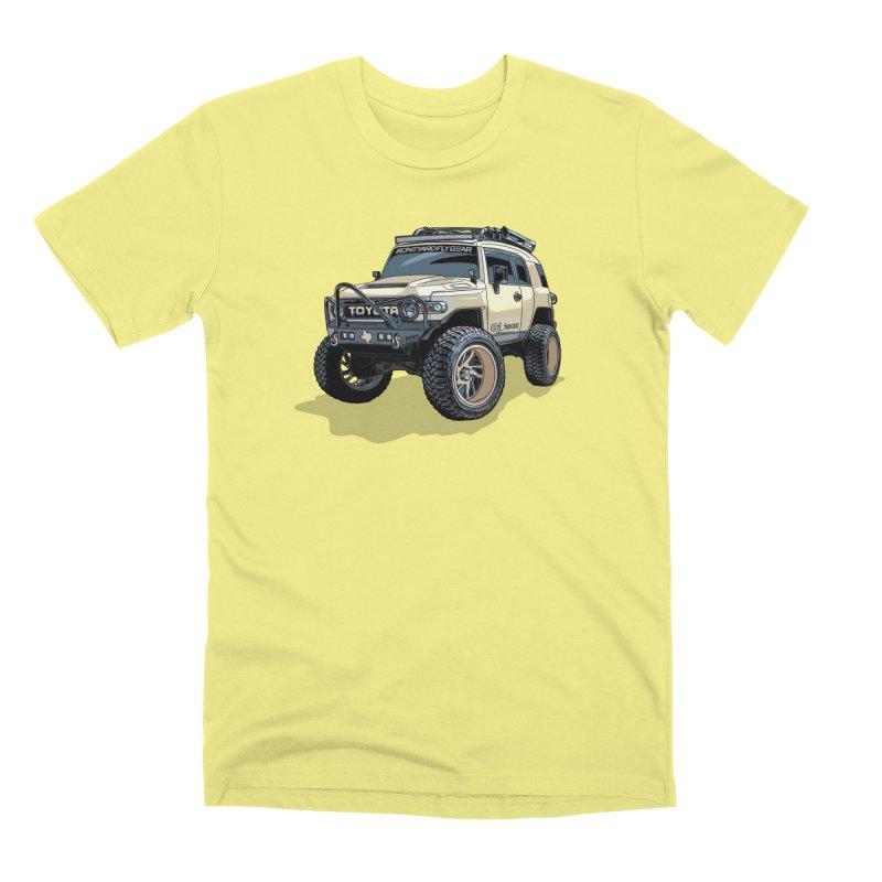 FJ Texas Men's Premium T-Shirt by Boneyard Studio - Boneyard Fly Gear
