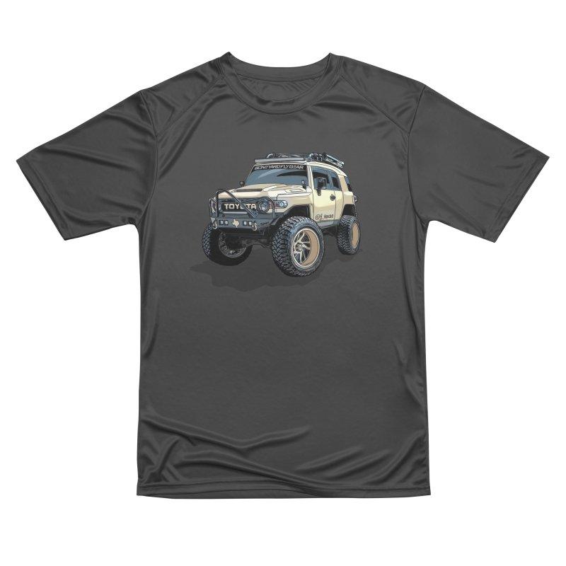 FJ Texas Men's Performance T-Shirt by Boneyard Studio - Boneyard Fly Gear