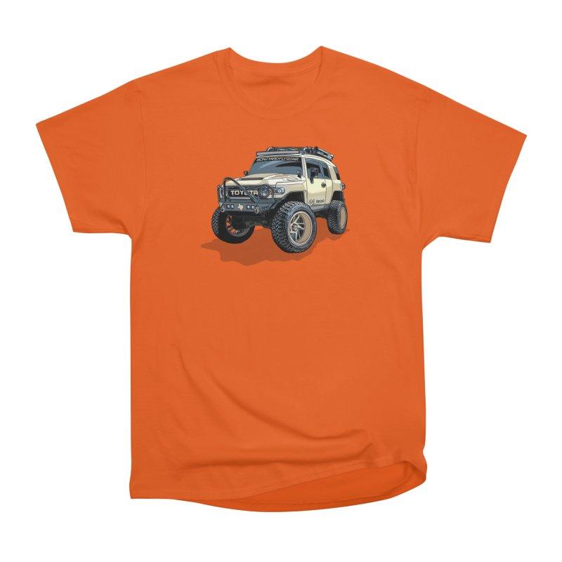 FJ Texas Men's Heavyweight T-Shirt by Boneyard Studio - Boneyard Fly Gear