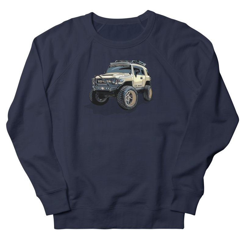 FJ Texas Men's French Terry Sweatshirt by Boneyard Studio - Boneyard Fly Gear