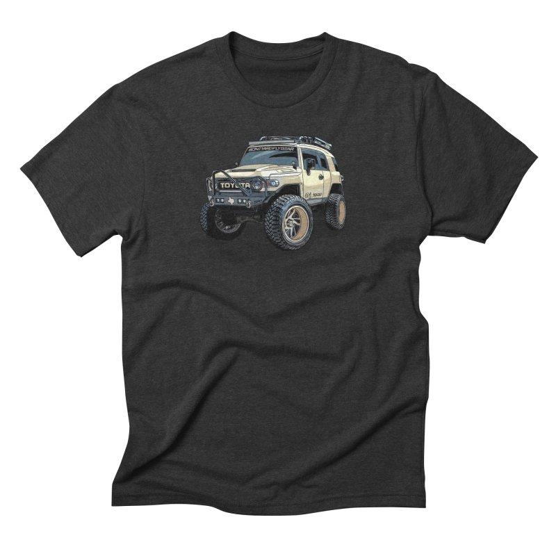 FJ Texas Men's Triblend T-Shirt by Boneyard Studio - Boneyard Fly Gear