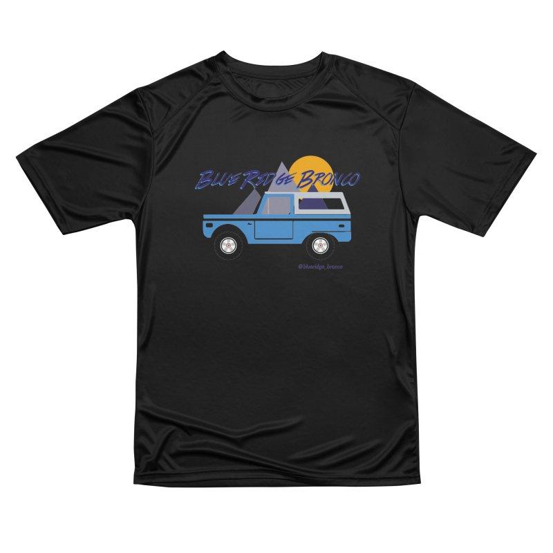 Blue Ridge Bronco Men's Performance T-Shirt by Boneyard Studio - Boneyard Fly Gear