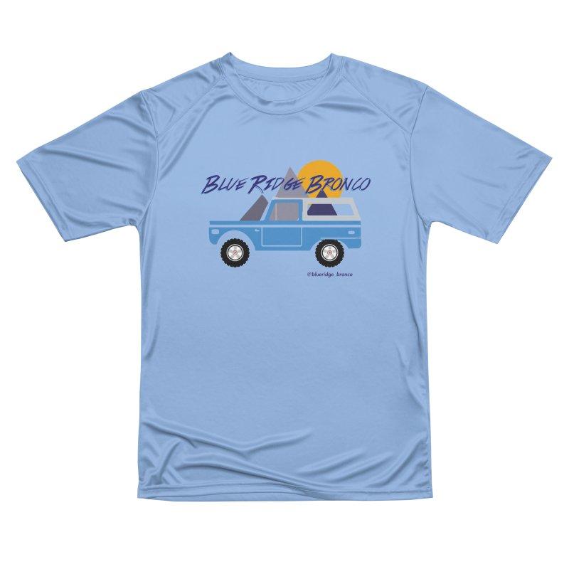 Blue Ridge Bronco Men's T-Shirt by Boneyard Studio - Boneyard Fly Gear