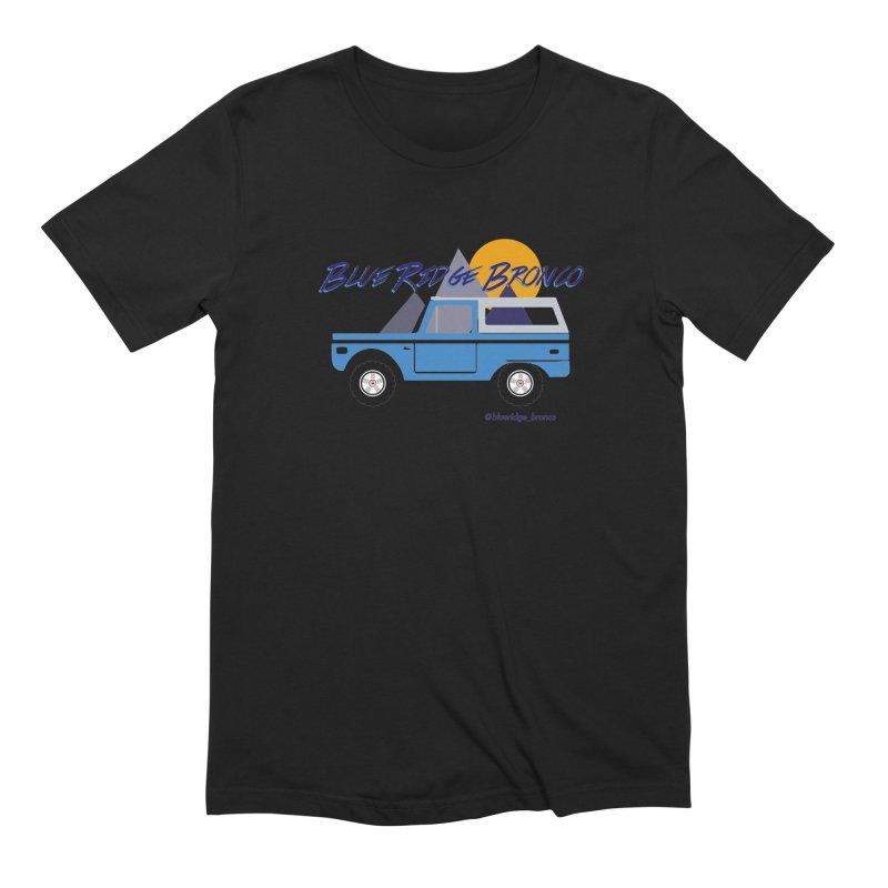 Blue Ridge Bronco Men's Extra Soft T-Shirt by Boneyard Studio - Boneyard Fly Gear