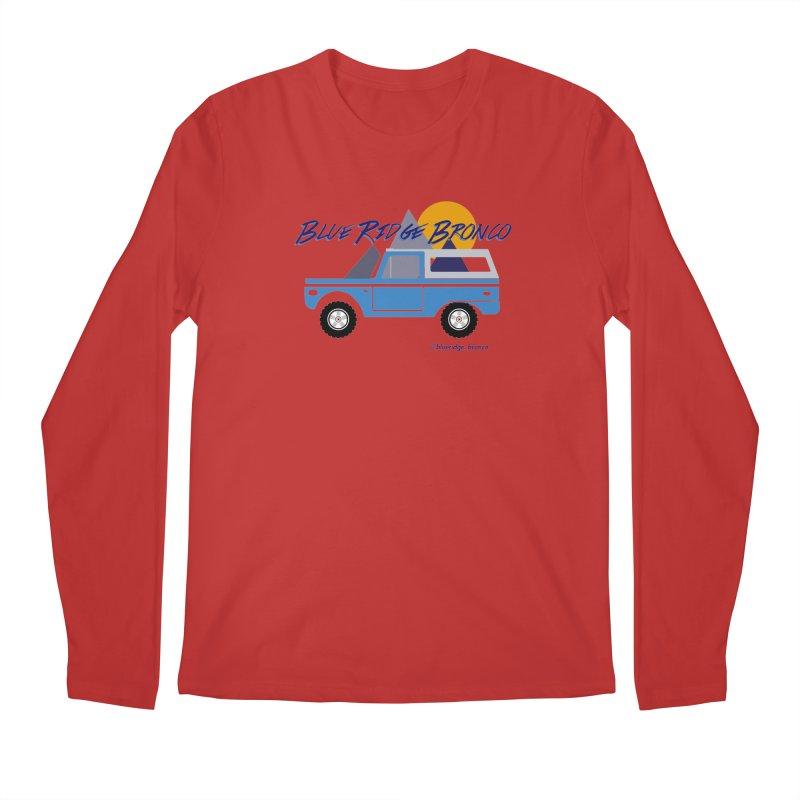 Blue Ridge Bronco Men's Regular Longsleeve T-Shirt by Boneyard Studio - Boneyard Fly Gear