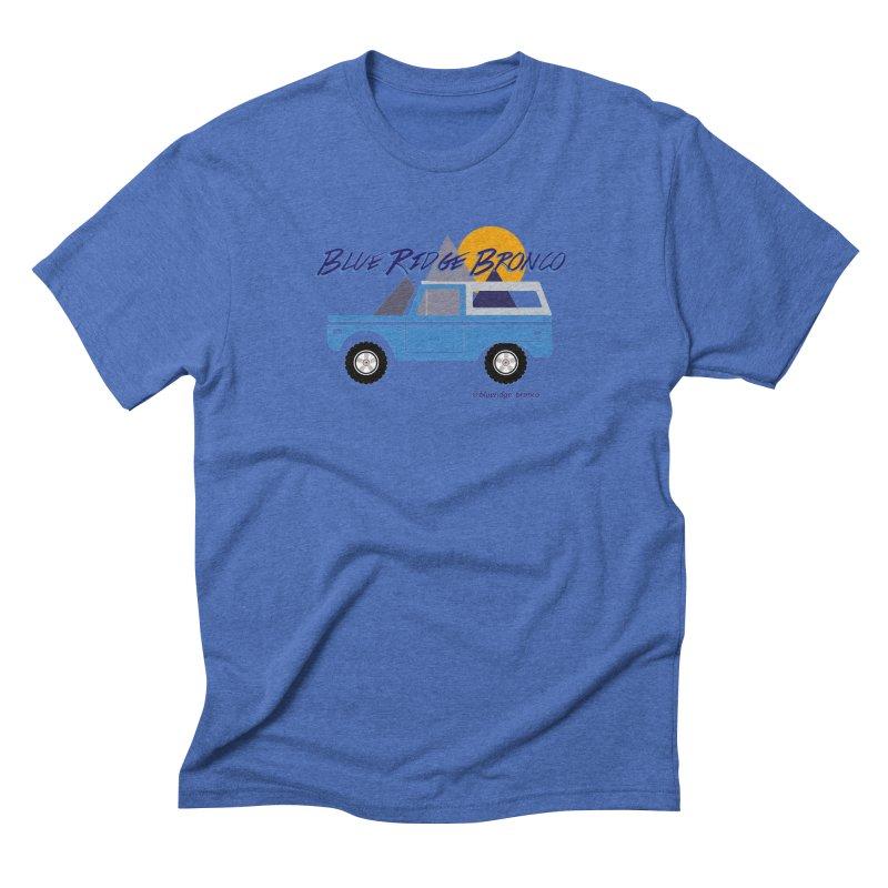 Blue Ridge Bronco Men's Triblend T-Shirt by Boneyard Studio - Boneyard Fly Gear