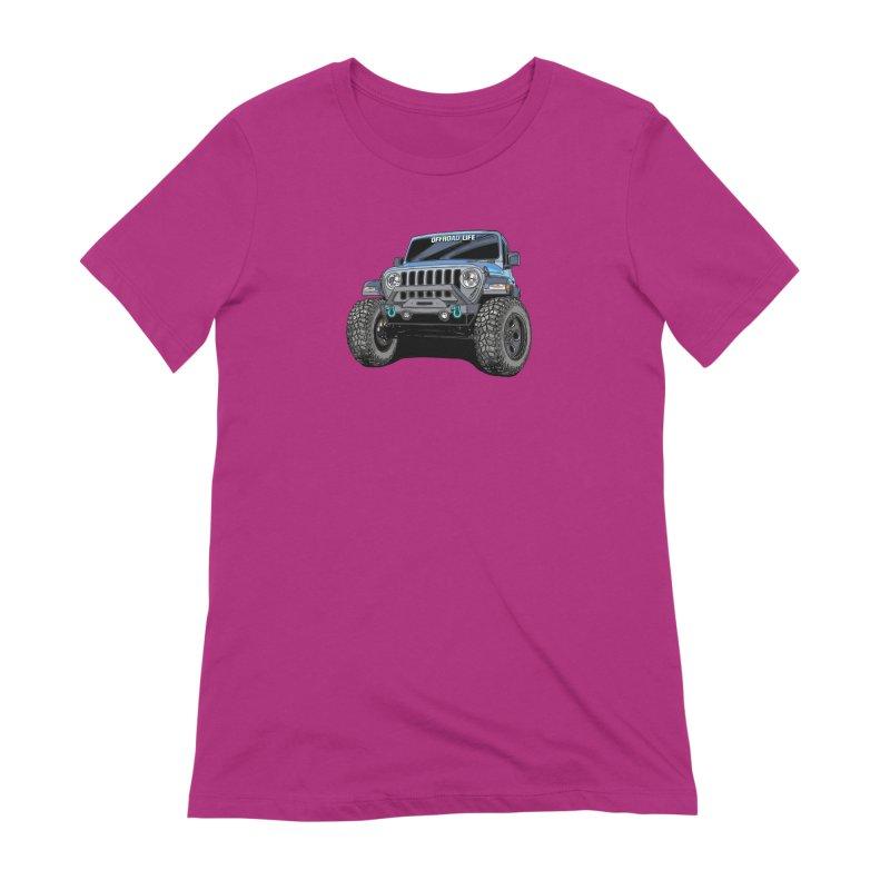 Gladiator Women's Extra Soft T-Shirt by Boneyard Studio - Boneyard Fly Gear