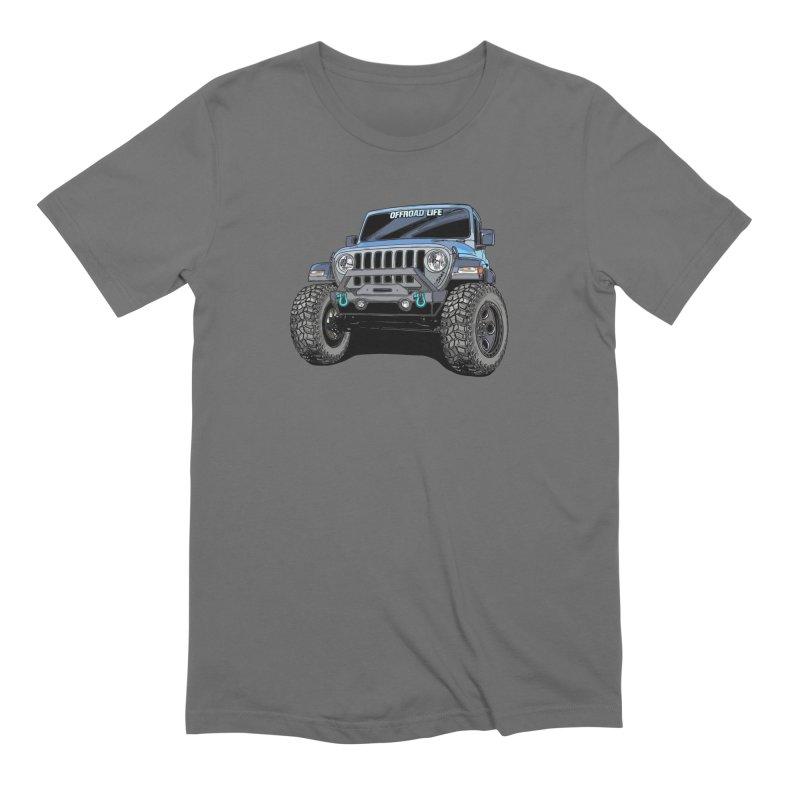 Gladiator Men's Extra Soft T-Shirt by Boneyard Studio - Boneyard Fly Gear