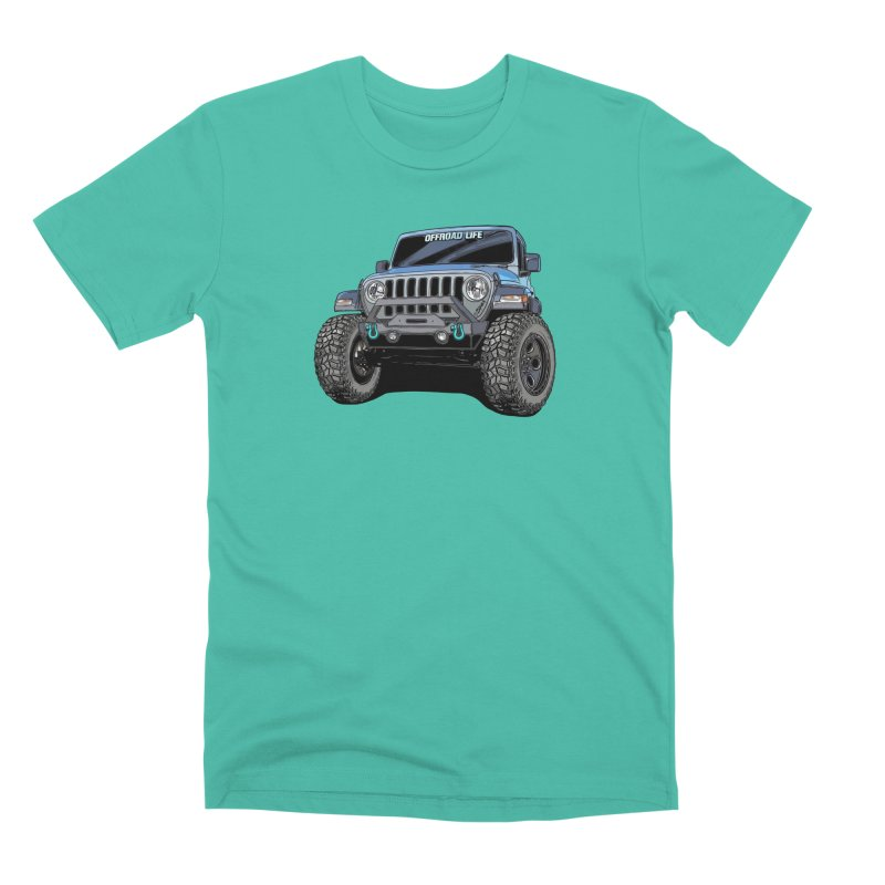 Gladiator Men's Premium T-Shirt by Boneyard Studio - Boneyard Fly Gear