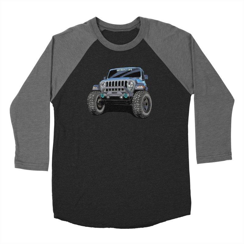 Gladiator Women's Baseball Triblend Longsleeve T-Shirt by Boneyard Studio - Boneyard Fly Gear