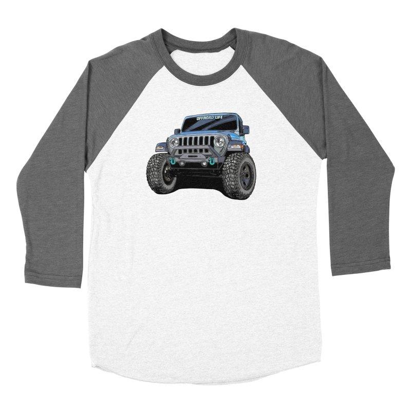 Gladiator Men's Baseball Triblend Longsleeve T-Shirt by Boneyard Studio - Boneyard Fly Gear