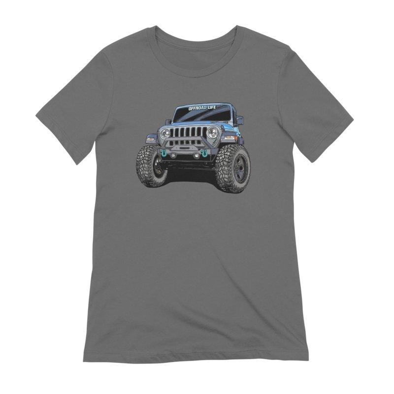 Gladiator Women's T-Shirt by Boneyard Studio - Boneyard Fly Gear