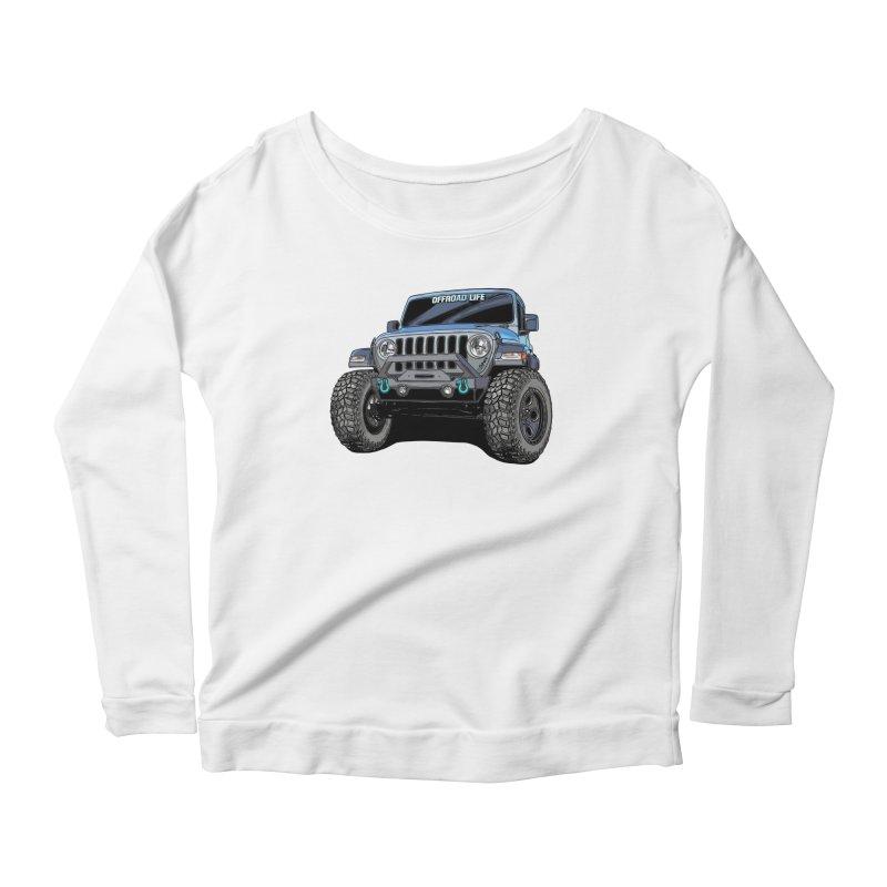 Gladiator Women's Scoop Neck Longsleeve T-Shirt by Boneyard Studio - Boneyard Fly Gear