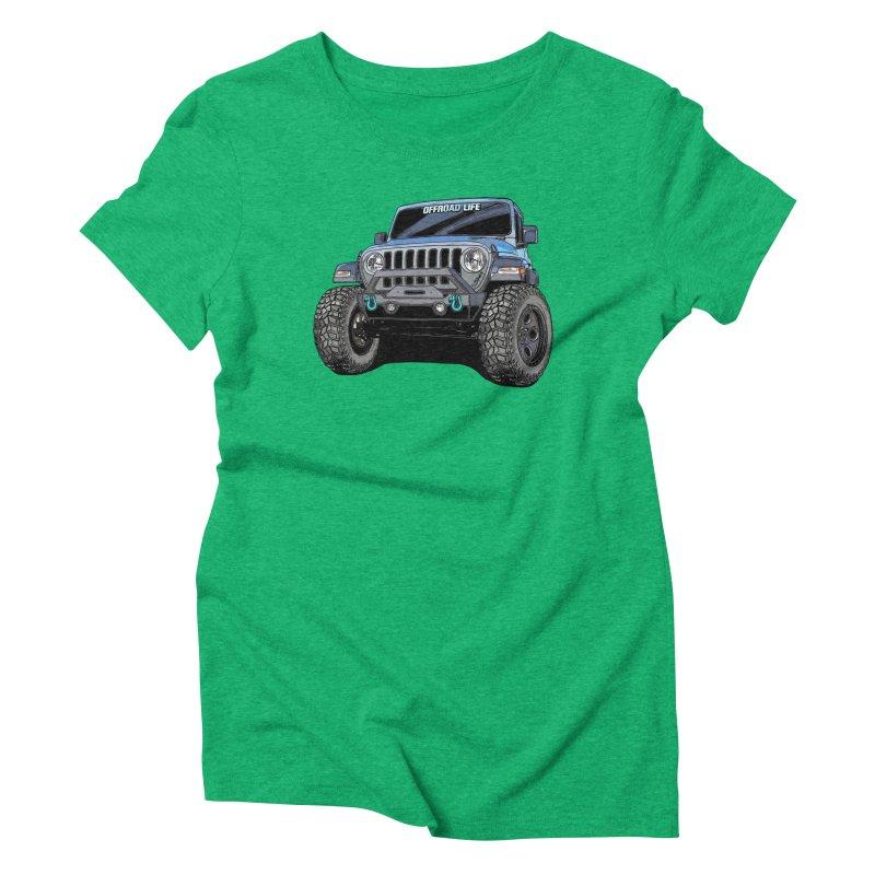Gladiator Women's Triblend T-Shirt by Boneyard Studio - Boneyard Fly Gear