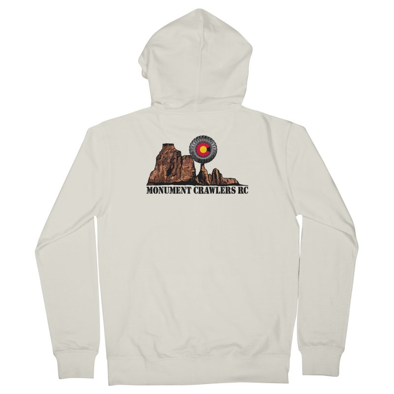 MCRC Men's French Terry Zip-Up Hoody by Boneyard Studio - Boneyard Fly Gear